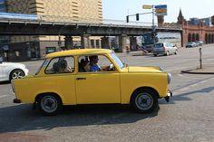Trabant - from DDR, East Germany - Während seiner langen Bauzeit wurde er nur im Detail weiterentwickelt, sodass er in späteren Jahren letztlich die Erstarrung der DDR-Wirtschaft widerspiegelte. Relativ große Stückzahlen erreichte von 1964 bis 1991 insbesondere der Trabant P 601, der 1989/1990 zu einem Symbol der Wiedervereinigung Deutschlands wurde. Ähnlich wie der VW Käfer entwickelte sich auch der Trabant zu einem Kultfahrzeug mit umfangreichem Freundeskreis