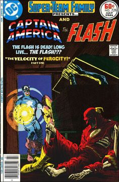 Super-Team Family: The Lost Issues!: Captain America and The Flash