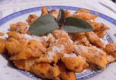Sütőtökös galuska | NOSALTY Gnocchi, Carrots, Chicken, Vegetables, Food, Essen, Carrot, Vegetable Recipes, Meals