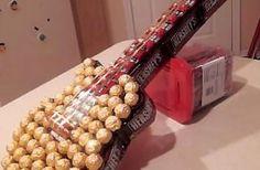 DIY Candy Guitar gift
