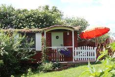 Gemütlicher Bauwagen im Garten, mit Duschbad - Kleine Häuser zur Miete in Stocksee, Schleswig-Holstein, Deutschland
