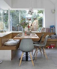 ein tolles esszimmer in hellen farben und stilvollen mobelstucken eckbank esstisch sitzbank esstisch