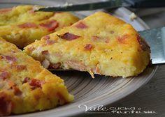 Schiacciata di patate e speck ricetta facile e veloce una ricetta davvero golosa e saporita, pochi ingredienti ,poca spesa e massima resa