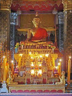 Wat That Luang (Luang Prabang) Laos