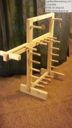 Loomzilla: Combo Inkle loom and warping board