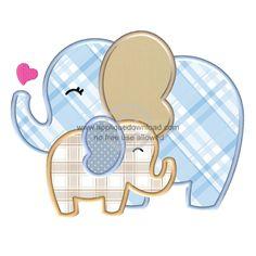 Free Elephant Applique Pattern   Big Elephant Applique by Jody ... : elephant applique quilt pattern - Adamdwight.com