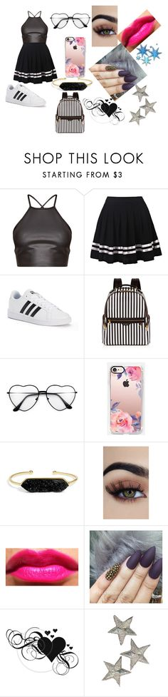 """""""L.A. style"""" by lauren-paul-sets ❤ liked on Polyvore featuring adidas, Henri Bendel, Casetify and BaubleBar"""