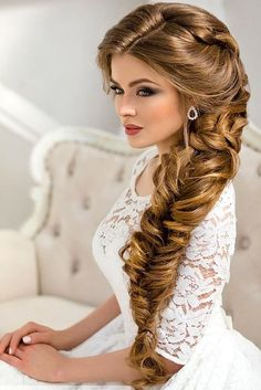 TOP Wedding Ideas Part 5 ❤ See more: http://www.weddingforward.com/wedding-ideas-part-5/ #wedding #hairstyle #ideas
