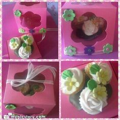 Bouquet cupcakes