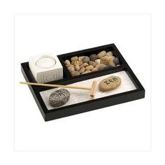 Tabletop Zen Garden Kit (pack of 1 SET)