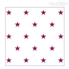 Musterstempel Stars I