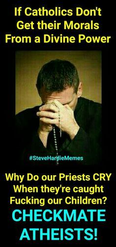Finally, a christian question we can't answer. #SteveHardieMemes