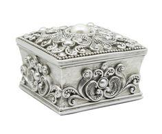 Декоративная коробка для хранения - канифоль - серый - В6хШ8хГ8   Westwing Интерьер & Дизайн