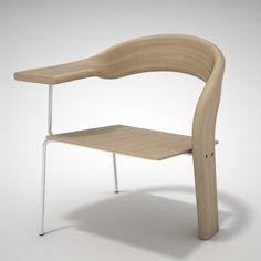 Cafe Chair by Kamilla Lang Betak