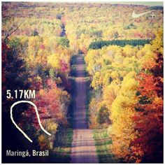 Would love to do a run like this!! #nikeplus | Nike Plus Running