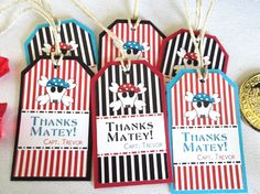Pirate Water Bottle Labels by kppboutique on Etsy, $6.00
