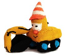 Das ist Bernd. Er baggert für sein Leben gern. Hast auch Du einen kleinen Bagger-Fan zu hause? Dann ist die Anleitung genau richtig für Dich.