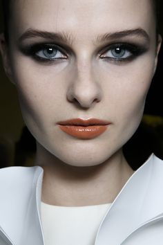 Make-up Stéphane Rolland at Couture Spring 2014 - StyleBistro