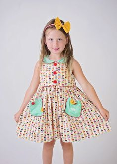 d6167fd98aa Buy Go Fly a Kite Poppy Lane Vintage Dress at Little Miss Marmalade for  only  42.00