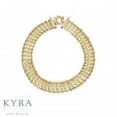 18K Yellow Gold Circle Lock Necklace