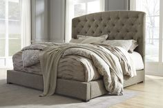 Gerlane King Uph Bed By Signature Design Ashley Get Your At Metropolitan Furniture Burlington Ma