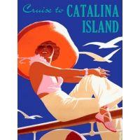 Catalina Island Custom Sign