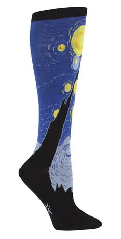 STARRY NIGHT knee socks