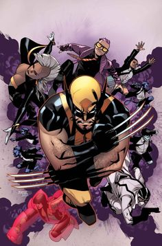 WOLVERINE AND THE X-MEN #1 & 2 Jason Latour (W) • Mahmud Asrar (A/C) WELCOME TO THE JEAN GREY SCHOOL OF HIGHER LEARNING! The ALL NEW MARVEL NOW smash hit series schools with Jason Latour (WINTER SOLDIER) and Mahmud Asrar (X-MEN) leading the charge with drama, action and homework(?)! World-famous X-Men Wolverine, Storm, and a star-studded faculty must educate the next generation all-powerful, but inexperienced mutants!  32 PGS. (EACH)/Rated T+ …$3.99 (EACH)