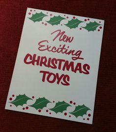 Vintage Drugstore Cardboard ' Christmas by HeyDayCollectables