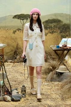 A Wes Anderson-Inspired Collection We're Crushing Over Hard #refinery29  http://www.refinery29.com/orla-kiely#slide-7