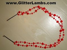 Glitter Lambs: How To Make A Hair Necklace- DIY Hair Accessories