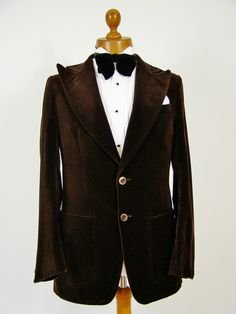 Velvet evening / smoking jacket... top notch vintage and classic menswear at Tweedmans Vintage. http://www.tweedmansvintage.co.uk/