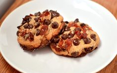 Maple Bacon Browned Butter Chocolate Chip Cookies  Yammie's Noshery