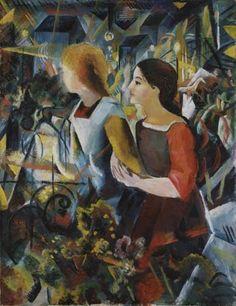 August Macke - Zwei Mädchen