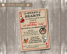 Vintage Alice in Wonderland Unbirthday Party by montrosedesigns