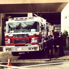 Firehall No. 8. Great men doing good work  - Photo by morgananana_