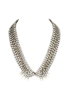 "Rosewell V Collar, $179 (on sale);  target=""sale"">shoplesnouvelles.com Courtesy of Les Nouvelles  - ELLE.com"