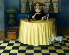 Born 1942 in Matlock Derbyshire - UK, Mike Worrall is an British painter and designer, inspired by historical themes.