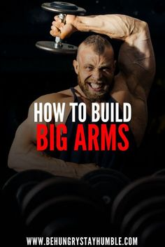 Check out this article to learn how to build the biggest possible arms. If you want to gain lean mass and build muscle, chances are you want to also have huge arms. This article includes a bicep and tricep workout that will help you blow your arms up and Bicep Workouts For Mass, Arm Workout For Mass, Arm Workout Men, Bicep And Tricep Workout, Biceps And Triceps, Free Workout, Arm Workouts, Ab Exercises, Ripped Workout
