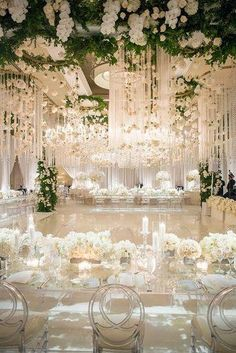 Nothing says luxury like an all white California wedding. From the florals to the linens to the candles, having an all white wedding is perfect for that bride that wants to look flawless. decorations reception Luxury Southern California All White Wedding All White Wedding, Dream Wedding, Elegant Wedding, Wedding Reception Decorations Elegant, White Weddings, Indoor Wedding Decorations, White Wedding Decorations, Spring Wedding, All White Party
