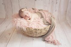 SET Pink and Putty Stretch Knit Baby Wraps