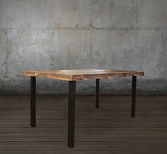 Reclaimed Wood Dining Table - Free Shipping