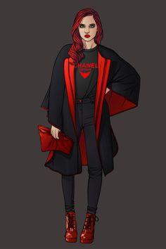 Superheroine Fashion cosplay   Kathy Kane aka  Batwoman