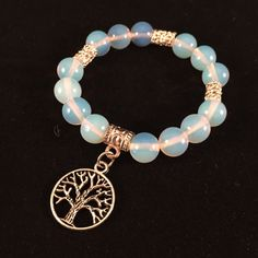 Tree of Life Bracelet, Yoga Bracelet, Gemstone Bracelet, Mala Bracelet, Energy Bracelet, meditation, healing, Chakra Bracelet, opalite by HaydeeDesigns on Etsy https://www.etsy.com/listing/229045978/tree-of-life-bracelet-yoga-bracelet #handmade #jewelry #etsyshop #jewelrydesign #jewelryonetsy #mothersday #yoga #yogaforall #namaste #malabeads #giftsformom #handmade #shoppershour #craftshout