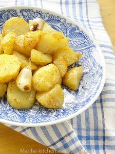 кулинарные рецепты с фотографиями - Запеченный картофель
