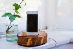 Base para móvil de madera handmade1