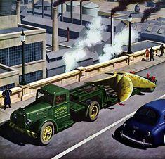 Plan59 :: Classic Truck Art :: 1945 Autocar Trucks