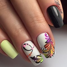 The Best Nail Design For Weddings – Your Beautiful Nails Feather Nail Art, Floral Nail Art, Feather Nail Designs, Acrylic Nail Designs, Nail Art Designs, Acrylic Nails, Nail Art Arabesque, Sculpted Gel Nails, Pink Nail Colors