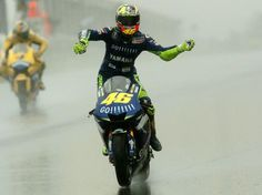 Congrats on the win last weekend Vale.  You've still got it.