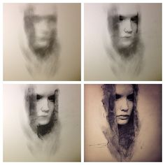 Hour sketch in charcoal by caseybaugh